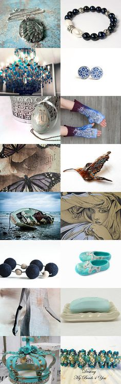 Blue Sunday by Jacek on Etsy--Pinned with TreasuryPin.com