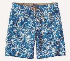 "Printed 'Wavefarer' Swim Shorts - 8"" Inseam"