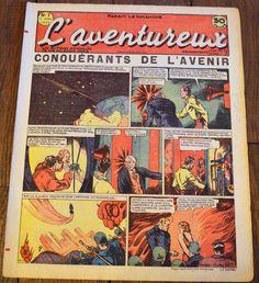 L'aventureux 1ere Annee 1936 n 7 : Conqueranys de L'avenir