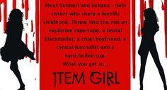 #ItemGirl #crimethriller Introducing Sunheri and Sunaina! Grab your copies at:  Flipkart: http://bit.ly/ItemGirlFlipkart Amazon India: http://bit.ly/ItemGirlAmazon