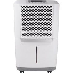 Frigidaire Energy Star 50-Pint Dehumidifier, FAD504DWD, White