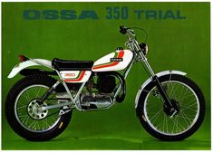Ossa – the marquis Vintage Motorcycles, Cars And Motorcycles, Sidecar, Motos Trial, Flat Track Racing, Trial Bike, Motorcycle Engine, Dirtbikes, Bike Art