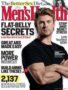 Men's Health. Chris Hemsworth