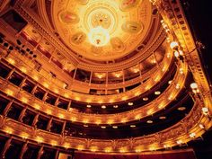 """National Theater """"Nineteenth-century opulence marks Prague's National Theater, a source of civic pride when it was built in the late 1800s and a showcase for Czech artists, including the renowned composers Antonín Dvořák and Bedřich Smetana."""""""