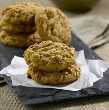 This melt-in-your-mouth peanut butter cookie recipe comes from Kim Nguyen and her blog, Lovin' from the Oven. For a slightly more decadent peanut butter cookie, Kim suggests adding some chocolate chips or M&M's to the recipe.