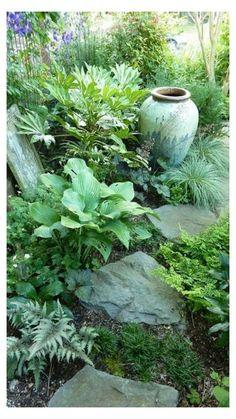 Landscape Edging Stone, Landscape Design, House Landscape, Fall Landscape, Amazing Gardens, Beautiful Gardens, Beautiful Flowers, Plantas Bonsai, Design Jardin
