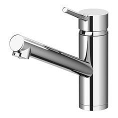 IKEA - YTTRAN, Blandebatteri, 10 års garanti. Les om vilkårene i garantiheftet.Du sparer vann og energi fordi blandebatteriet har en innretning som reduserer vanngjennomstrømning uten å redusere vanntrykket.Blandebatteriets innsats har harde, slitesterke keramiske skiver. De kan motstå den sterke friksjonen som oppstår når du regulerer vanntemperaturen.