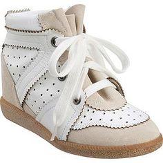 white isabel marant sneaker