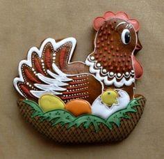 Veľkonočné Easter Cookies, Fun Cookies, No Bake Cookies, Cake Cookies, Sugar Cookies, Cupcake Cakes, Cupcakes, Decorated Cookies, Royal Icing