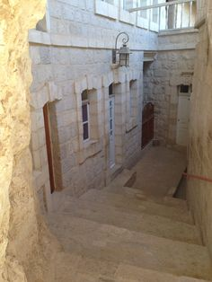 Inside the Monastery at the top of the Mount of Temptation where Jesus was tempted by the Devil.