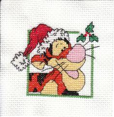 Tigger ornament - Cross Stitch