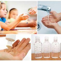 ¼ cdita de glicerinacomo humectante -Elije uno o dos aceites esenciales con cualidades antibacterianas, como los de lavanda, romero, eucal...