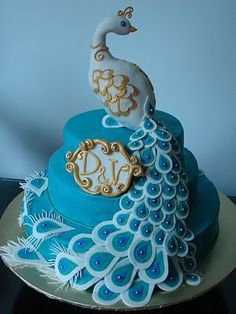 Amazing Peacock cakes!