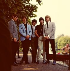 The Rolling Stones - Regent's Park, London; 1964 (Terry O'Neill)