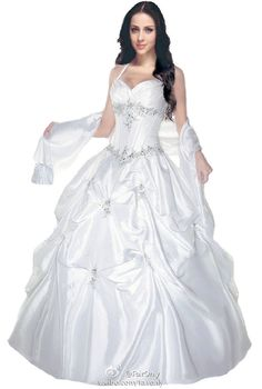 FairOnly Evening Long Formal Prom Gown Quinceanera Dress Size 6 8 10 12 14 16