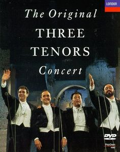 The original Three Tenors Concert (Carreras Domingo Pavarotti in Concert Mehta) $2.50