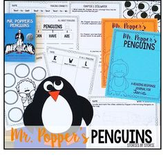 Mr. Popper's Penguins Resources and Activities