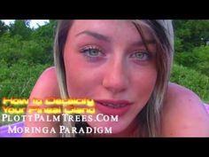"""▶ Moringa Chick, """"How to Decalcify Your Pineal Gland"""" PLOTTPALMTREES.COM - YouTube"""