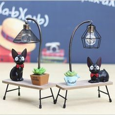 Little Kitty Lamp from Apollo Box Cat Lamp, Cage Light, Apollo Box, Teenage Room, Little Kitty, Cute Japanese, Diy Box, Cat Gifts, Wooden Diy