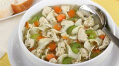 The secret to Dr. Ian Smith's Shredder Diet is keeping your metabolism off-kilter by eating different foods at different times. Soups are a great way to break up the monotony of dieting. Try this fast and filling chicken noodle soup from Dr. Smith's wife Triste.