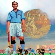Dhyan Chandra Is a best hockey player in India. Government of India provide to Bharat ratna award to dhyan Chandra. Dhyan Chand, National Sports Day, Hanuman Photos, Berlin, Student Of The Month, India Win, Star Of The Day, Motivational Status, Olympic Gold Medals
