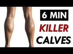This calf workout will help you build sexy calves with just 10 minutes.We tend to forget the calf muscles but you have to work them also.Do this isolated calf workout once a week using a pair of 7 Minute Workout, Six Pack Abs Workout, Abs Workout For Women, Ab Workout At Home, At Home Workouts, Workout Fitness, Calf Workouts, Fat Workout, Calf Muscle Workout