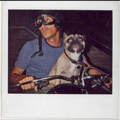 Brandon Boyd and pup.