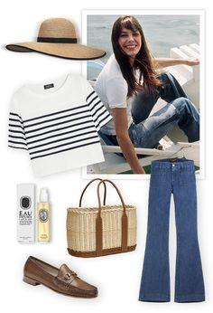 Jane Birkin shopping inspiration, Gucci, Isabel Marant, Hermès, A.P.C., Seafarer, Jaeger-LeCoultre, Saint Laurent, J Brand, Julien David, Ma...
