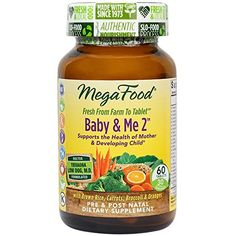 MegaFood  Baby & Me 2 Key Nutrients Vital to Prenatal Support of Both Mother & Baby 60 Tablets Review http://10healthyeatingtips.net/megafood-baby-me-2-key-nutrients-vital-to-prenatal-support-of-both-mother-baby-60-tablets-review/