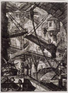 Gran - Droomwereld Mulisch   Piranesi (onderbewustzijn) - Collectie Boijmans Online