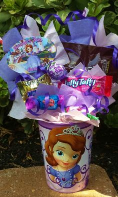 Sofia The 1st Princess Kids Candy Party Favors on Etsy, $4.99