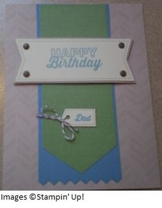 May Paper Pumpkin kit Happy Birthday card.