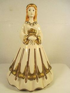 Vintage Napkin Doll Angel, Lillian Vernon Ceramic ND 319