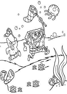 Die 78 Besten Bilder Von Spongebob Schwammkopf Party Colouring