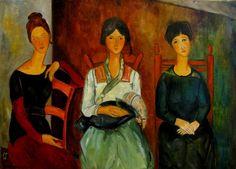 Krystyna-Ruminkiewicz - Kobiety AM,50x70,olej