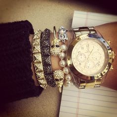 how awesome is @sheriann_'s mix of metals and sparkle?! #showusyoursparkle
