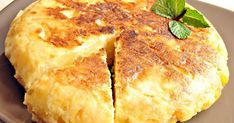 Omelette au Four Baked Omelette, Omelette Recipe, Breakfast And Brunch, Spanish Eggs, Vegan Recipes, Cooking Recipes, Cornbread, Coco, Food And Drink
