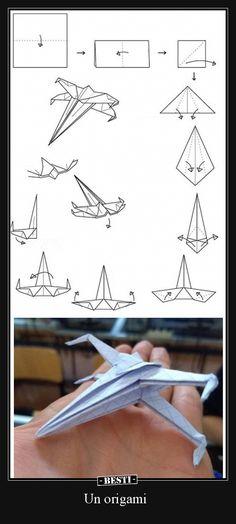 Origami star wars x wing ideas Star Wars Origami, Instruções Origami, Origami Dragon, Oragami, Origami Butterfly, Origami Folding, Cool Paper Crafts, Paper Crafts Origami, Origami Airplane