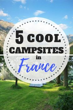The Best Small Cool Campsites in France – WhodoIdo: Take a road trip and explore the beautiful countryside of France. Stay at these small cool camp sites in France and wake up to beautiful views of the countryside. A camping trip to remember! Europe Destinations, Europe Travel Tips, European Travel, Travel Advice, Travel News, Budget Travel, Travel Quotes, Camping France, France Travel