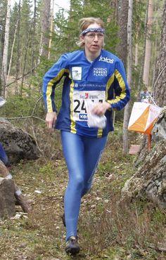 Outi Borgenstrom, World Orienteering Champion 1979