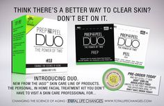 Newest TLC Iaso skin product. DUO is a professional strength facial peel. It's available now for preorder at TotalLifeChanges.com  Enjoy a full bottle of Iaso Emu oil absolutely FREE from now until April 1 with your order.  #facialpeels #skincare #beauty