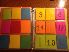 Rise and Shine Binder - math games for fast finishers