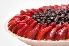 Strawberry-Blueberry Pie Recipe
