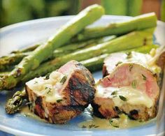 Grilled Veal Tenderloin with Brandy Butter Sauce