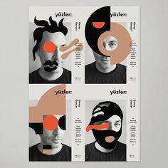 """GMKさんはInstagramを利用しています:「Geray Gençer'in, kitap kapakları ve afişlerinden oluşan sergisi """"Yüzler"""" 9-30 Kasım 2017 tarihleri arasında Marmara Üniversitesi Güzel…」"""