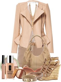 """Nude but innocent #2"" by snowshoekittens ❤ liked on Polyvore"