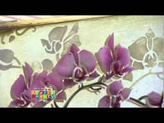 Stencil OPA - 12/03/15 - Mayumi Takushi - Orquídea Phalaenopsis - YouTube