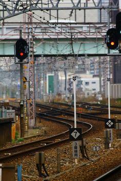 KOBE, JAPAN IMAGES: NADA TRAIN STATION PLATFORM 16apr14.
