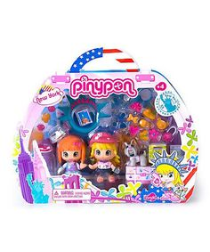 Take a look at this New York Traveler Pinypon Set by Pinypon on #zulily today!