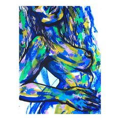 FINDizzCREATE - life drawing- painting sold - www.isabelleewing.com - brush stroke - by isabelle ewing
